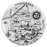 Hanherred Denmark Souvenir Plate by Bing & Grondahl