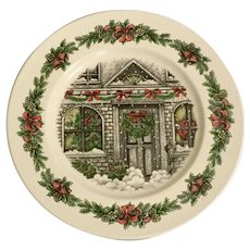 "Royal Stafford Christmas Home 12"" Chop Plate"