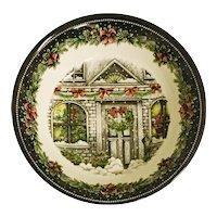 "Royal Stafford Christmas Home 10"" Round Vegetable Bowl"
