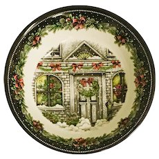 "Royal Stafford Christmas Home 10"" Round Vegetable Bowl"