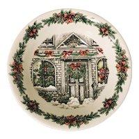 """Royal Stafford Christmas Home 10"""" Vegetable Bowl"""