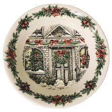"Royal Stafford Christmas Home 10"" Vegetable Bowl"