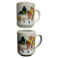 Arcopal Teddy Bear Mug Set