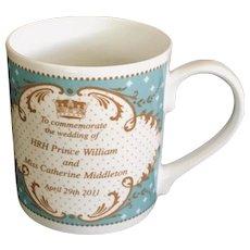 Royal Worcester Prince William & Kate Middleton Wedding Mug