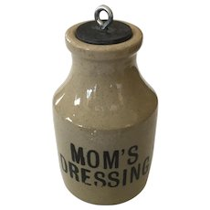 Moira Pottery Mom's Dressing Stoneware Crock