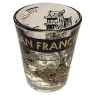 Vintage Federal Glass San Francisco Shot Glass
