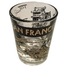 Vintage Federal Glass San Francisco Shot Glass