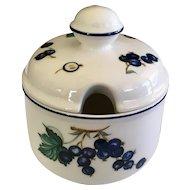 Villeroy and Boch Malaga Blueberry Jam Pot