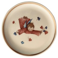 Schmid Berta Hummel Flying Angel Miniature Plate