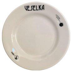 Veselka Restaurant Plate