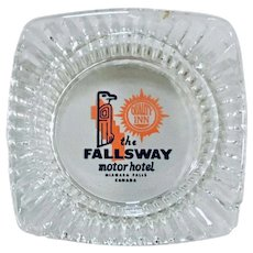 Fallways Motor Hotel Niagara Falls Quality Inn Canada Ashtray