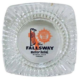Fallways Motor Hotel Niagra Falls Quality Inn Ashtray