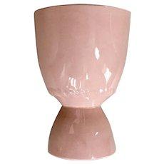 Homer Laughlin Kraft Pink Double Egg Cup