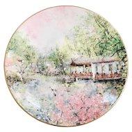 Chen Chi Royal Doulton Garden of Tranquility Plate NIB