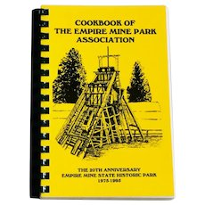 Cookbook of The Empire Mine Park Association 20th Anniversary 1995