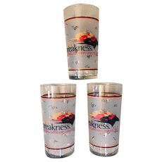 137th Preakness Glass Set of 3