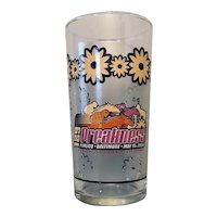 129th Preakness Glass