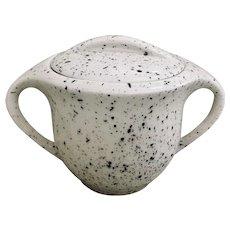Danton China Mid-Century Confetti Covered Sugar
