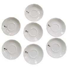 Syracuse China Jubilee Pattern Saucer ~ Set of 7