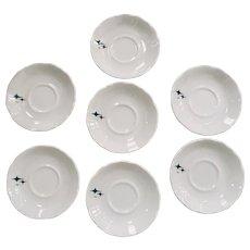 Syracuse China Jubilee Pattern Saucer ~ Set of 7