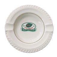 Breyers  Ice Cream 95th Anniversary Ashtray by Harker China Company