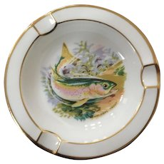 Royal Chelsea Canadian Wildlife Series Trout Ashtray