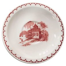 Syracuse China Mayfair Pattern Saucer