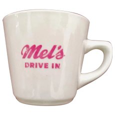 Mel's Drive-in Restaurant Ware Cup Ultimate China