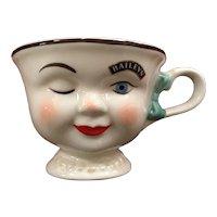 Baileys Irish Cream Yum Winking Mr & Mrs Woman / Man Coffee Mug Set
