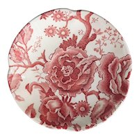 Johnson Brothers English Chippendale Red Pink Saucer