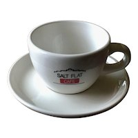 Salt Flat Cafe Volkswagen VW Drivers Wanted Cup & Saucer by Buffalo China