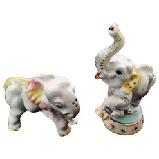 Napco Circus Elephant Salt & Pepper Set