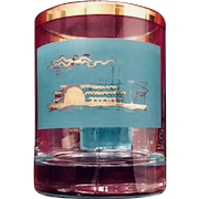 Libbey Southern Comfort Riverboat Promotional Jigger Glass