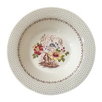 Royal China Chippendale Pattern Vegetable Bowl