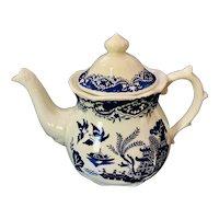 Blue Willow Teapot Price Kensington Potteries England