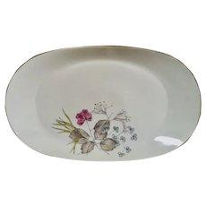 "Rosenthal Parisian Spring Ivory 15"" Oval Serving Platter"
