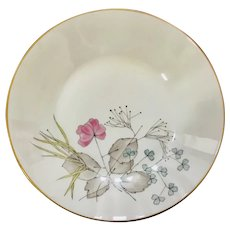 Rosenthal Parisian Spring Ivory Coupe Soup Bowl