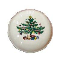 Nikko Christmastime Covered Trinket Dish