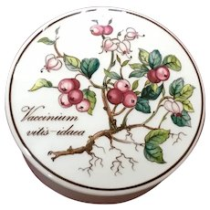 Villeroy & Boch Botanica Candy Dish / Trinket Box Vaccinium Vito's-idaea