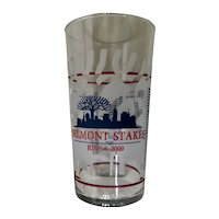 Belmont Stakes 141st Running Souvenir Glass