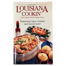 Louisiana Cookin' Cookbook by Tabasco Brand Pepper Sauce ~ Cajun Classic Recipes