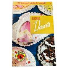 Culinary Arts Institute Elegant Desserts Recipe Book