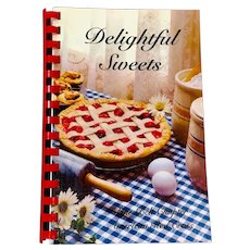 Delightful Sweets Recipe Book Pine Belt Chapter American Red Cross