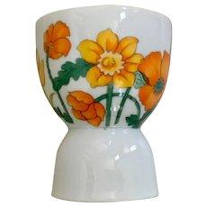 Lefton Japan Egg Cup Poppies & Irises