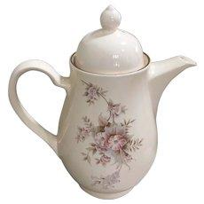Noritake Keltcraft Yesterday Pattern Teapot