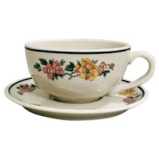 Mayer China Lawson Restaurant Ware Cup & Saucer