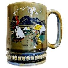 Vintage Wade Pottery Ireland Mug