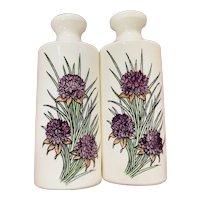 Mason's of England Floral Salt & Pepper Set