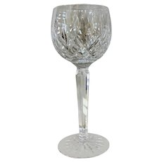 Waterford Crystal Lismore Pattern Balloon Wine Glass