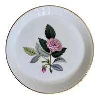 Wedgwood Hathaway Rose Pin / Butter Dish